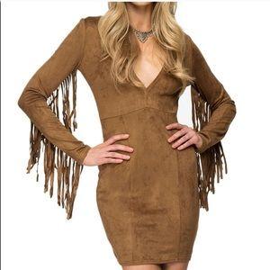 Women's fringe dress